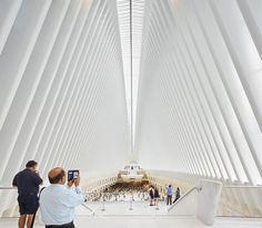 World Trade Center Transportation Hub de Calatrava pelas lentes de Hufton+Crow,© Hufton+Crow