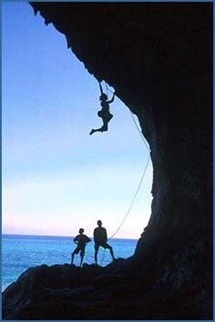 i love sport climbing!