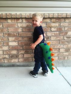 PATTERN: Dinosaur Tail Crochet Pattern with waistband