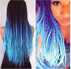 ombre box braids - Google Search