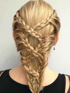 Braided Hairstyles: top 10 braided girl hairstyles for Long hair 2020 Cool Braid Hairstyles, Pretty Hairstyles, Girl Hairstyles, Hairstyle Ideas, School Hairstyles, Wedding Hairstyles, Children Hairstyles, Teenage Hairstyles, Bohemian Hairstyles