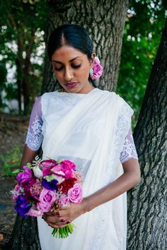 Shades of purple wedding flowers. See more- http://ohsoprettyplanning.com/cape-town-wedding-planner/galleries/#anj