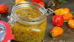 Traditional Caribbean Peppersauce (hot sauce) Recipe.
