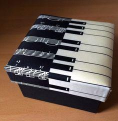 Piano Keyboard cufflinks box Piano Gifts, Music Gifts, Music Furniture, Music Theme Birthday, Instruments, Piano Art, Music Studio Room, Old Pianos, Music Jewelry
