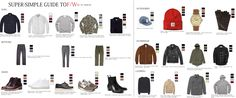 Mens Fashion Style Guides: All the variation in weather means variation in fashion. In the Fall, we'll see a lot of layering, earth tones, heavier material, and more accessories.