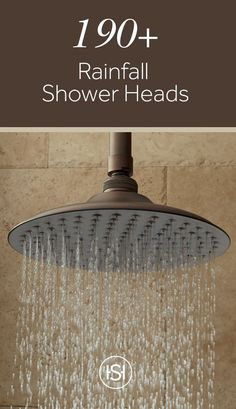 Switch out your dated shower head with one that is stylish and made of brass or stainless steel. The streams of water coming down replicate the soothing feeling of a peaceful rainfall. Rain Shower, Walk In Shower, Double Shower Heads, Rainfall Shower, Reno, Decoration, Master Bathroom, Home Remodeling, Home Improvement
