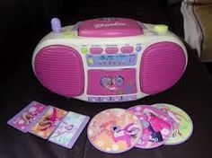 Barbie radio! I used to love this thing. :) all my sister had one we thought we was bumpin