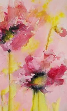Dreamy Poppies by Karin Johannesson