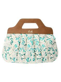 Rich. Lace Handbag