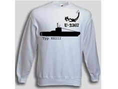Pullover U-2367  Pullover U-Boot 2367 Typ XXIII. Der U-2367 Pullover ist in den Größen S-3XL erhältlich. Auf dem Pullover ist das berühmte deutsche U-Boot U-2367 der Klasse XXIII abgebildet. / mehr Infos auf: www.Guntia-Militaria-Shop.de