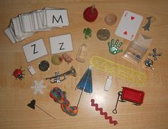 Alphabet box with ideas for every letter