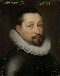 Workshop of Jan Anthonisz. van Ravesteyn, Portrait of Charles de Levin heer van Famars, Forimont en Lousart,  ca. 1609-1633, Rijksmuseum Amsterdam (SK-A-547)