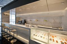 buffet counter cathay pacific lounge hk - Google Search