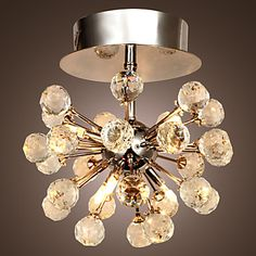 Modern+K9+Crystal+Chandelier+with+6+Lights+in+Globe+Shape+–+USD+$+89.99