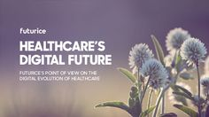 How do we see the healthcare's digital future and its impact on our lives? Healthcare Design, Point Of View, Medical Care, Health And Wellbeing, Our Life, Health Care, Management, Future, Innovation
