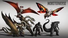 MonsterVerse by Aosk26.deviantart.com on @DeviantArt