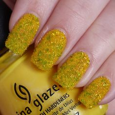 Another take on the Caviar manicure from Lucy's Stash. LOVE.