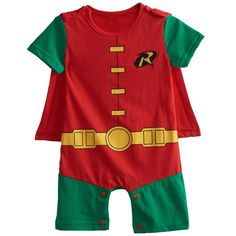 3fbd48076e1 Baby Boys Girls Superhero Costume Romper Infant Cosplay Funny Jumpsuit  Playsuit Toddler Carnival Party Fancy Dressing Up Cos