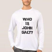 Who Is John Galt? T-Shirt