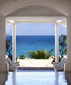 Great view from Hotel Saint-Barth Isle de France, St. Bart's