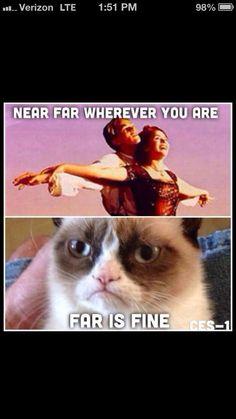 Far is fine