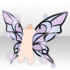 Anime Butterfly, Butterfly Wings, Wings Etc, Magic Wings, Character Art, Character Design, Wings Drawing, Overlays Picsart, Wings Design