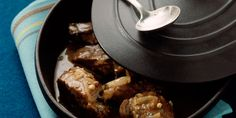 Paleron de boeuf braisé au cidre