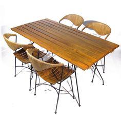 Arthur Umanoff for Raymor Table and Chairs