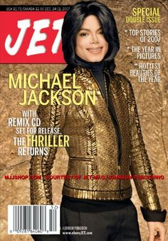Michael Jackson for Jet Magazine - He was a good looking guy when he came in the music industry.