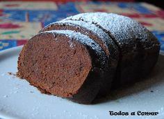 Receta. Bizcocho de chocolate en panificadora #Nerium #cremaantiarrugas www.DebbieKrug.me