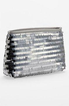 Nordstrom Shimmer Cosmetic Bag