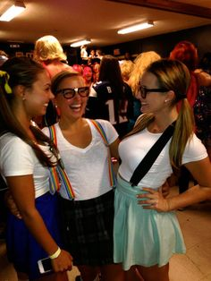 High School Stereotypes! Nerds. Diy Halloween CostumesCostume ...  sc 1 st  Pinterest : high school stereotype costume ideas  - Germanpascual.Com