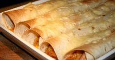 Tortillarullar med kyckingröra som är snabba och lätta att göra. Baconet ger en god rökt smak. Kebab Wrap, Snack Recipes, Snacks, Recipe For Mom, Tex Mex, Crepes, Bacon, Tapas, Clean Eating