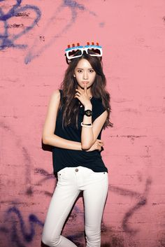 SNSD Yoona for Casio Baby G