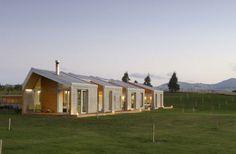 Modernas viviendas campestres (: