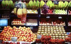Mercat del Ninot - frutería de diseño - visual merchandising - green grocery