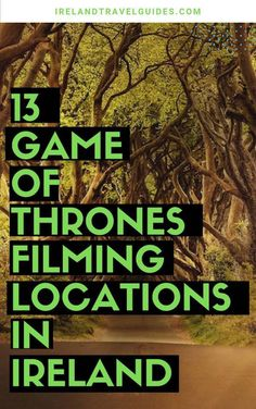 13 Game of Thrones Filming Locations in Ireland - Ireland Travel Guides - Travel tips - Travel tour - travel ideas Backpacking Europe, Europe Travel Tips, European Travel, Travel Guides, Travel Destinations, Travel Packing, European Vacation, Oregon, Game Of Thrones Locations