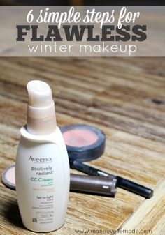 six simple steps to flawless winter makeup | 5 minute makeup routine