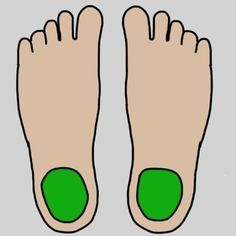 Believe it or not, feet play a huge role in your mental and physical health. Find out where these 9 parts of the foot connect to in your body. Acupressure Treatment, Acupressure Points, Acupuncture, Foot Reflexology, Foot Massage, Health And Beauty, Natural Remedies, Improve Yourself, Bodybuilding