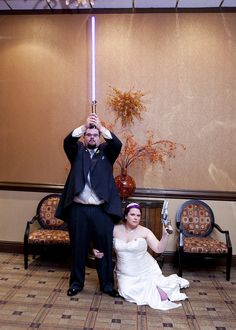 Katie & Kellan's Firefly and sci-fi geek chic wedding