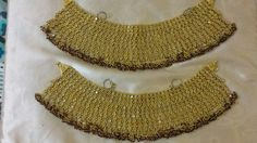 Anklet Designs, Silver Anklets, Gold Necklace, Jewelry, Fashion, Moda, Gold Pendant Necklace, Jewlery, Jewerly