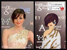 28 edición de los #Goya 2014: Natalia de Molina, ganadora del premio a mejor actriz revelación por Vivir es fácil con los ojos cerrados. Elegante vestido con detalles dorados de Andrew GN. www.le-chat-noir.es/chatas #goya2014 #premiosgoya #mejoresvestidos #cine #cineespañol #28edicion #nataliademolina #andrewgn #lechatnoir #chatas #moda #elegante #vestido #style #fashion #elegance…