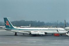 1968-1974 A short lifespan for Donaldson International Airways, UK. Flying Boeing 707 - PJ de Jong
