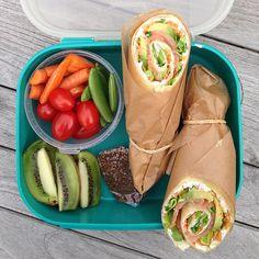 Ideer til madpakken til dit barn – Cathrine Brandt I Love Food, Good Food, Yummy Food, Gourmet Recipes, Snack Recipes, Healthy Recipes, Food Porn, Vegan Cafe, Food Inspiration