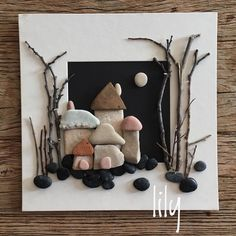 Ege sahillerinin mini taşları/from Egean sea sides/ orda bir köy var serisi #natureart kıminitaşlarım #pebbleart #minitaşlar#handcraft #handcrafted #çakıltaşısanatı #köy #sahiltaşları #artwork #craft #tasarim #instaart #stoneart #natureart #instaart #craft #handmade