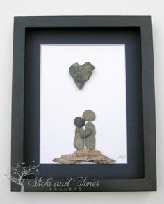 Motivational Pebble Art COUPLE'S Gift by SticksnStone on Etsy
