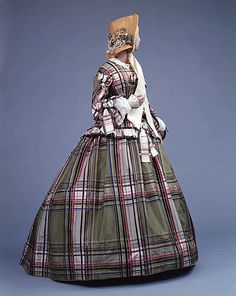 Dress    Date:      ca. 1857  Culture:      European  Medium:      silk