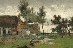 Dutch Artists, Romanticism, Land Art, Impressionism, Art Gallery, Artwork, Painting, School, Shop Signs