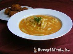 Zöldbab, Sárgabab főzelék | Receptkirály.hu Thai Red Curry, Soup, Ethnic Recipes, Soups