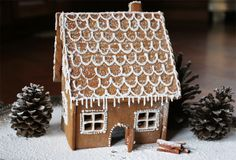 ginger bread house recipe